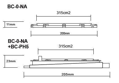 Buzon Atrama BC-0 (11 MM)