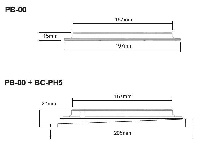 Buzon Atrama PB-00 (15 MM)