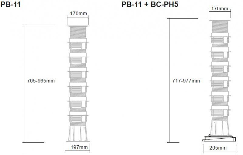 Buzon Atrama PB-11 (705-965 MM)