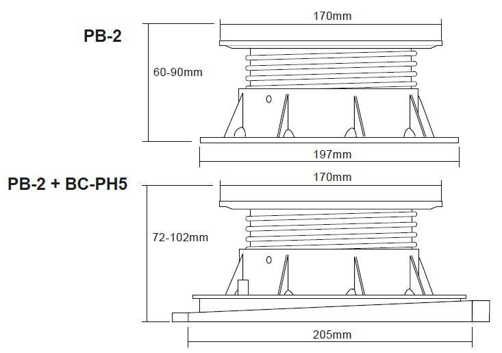 Buzon Atrama PB-2 (60-90 MM)