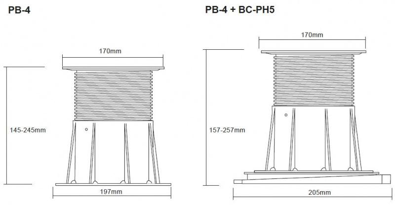 Buzon Atrama PB-4 (145-245 MM)