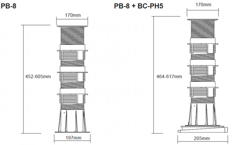Buzon Atrama PB-8 (452-605 MM)