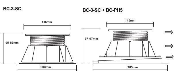 Buzon Atrama BC-3 (55-85 MM)