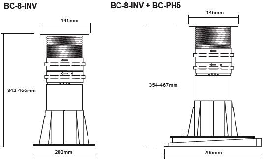 Buzon Atrama BC-8 (342-455 MM)