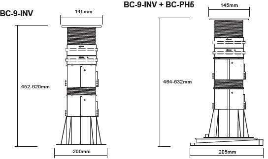 Buzon Atrama BC-9 (452-620 MM)